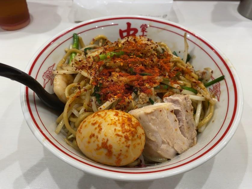 中本上板橋本店のチャーメン(炒麺)着丼1
