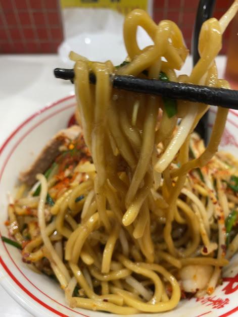 中本上板橋本店のチャーメン(炒麺)着丼2