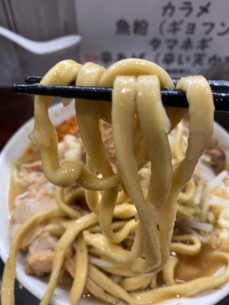 麺でる川崎でラーメン小2
