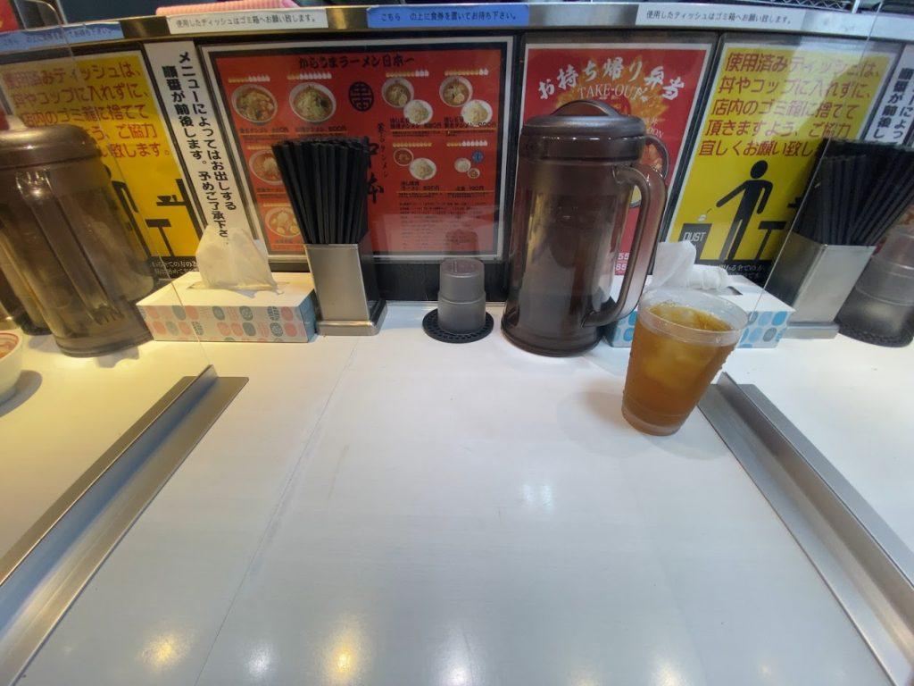 蒙古タンメン中本西池袋店に到着4